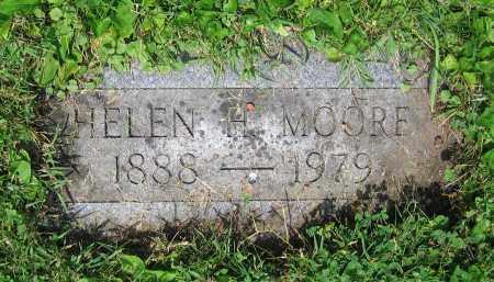 MOORE, HELEN H. - Clark County, Ohio | HELEN H. MOORE - Ohio Gravestone Photos
