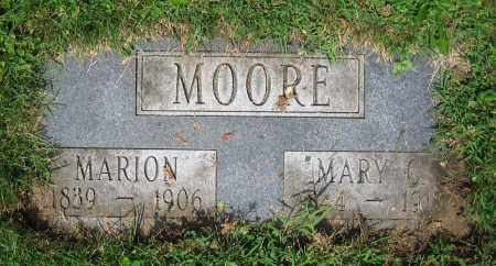 MOORE, MARION - Clark County, Ohio | MARION MOORE - Ohio Gravestone Photos