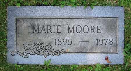 MOORE, MARIE - Clark County, Ohio | MARIE MOORE - Ohio Gravestone Photos