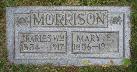 MORRISON, MARY E. - Clark County, Ohio | MARY E. MORRISON - Ohio Gravestone Photos