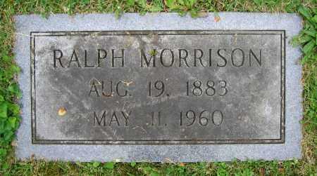 MORRISON, RALPH - Clark County, Ohio | RALPH MORRISON - Ohio Gravestone Photos