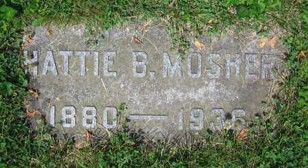 MOSHER, HATTIE B. - Clark County, Ohio | HATTIE B. MOSHER - Ohio Gravestone Photos