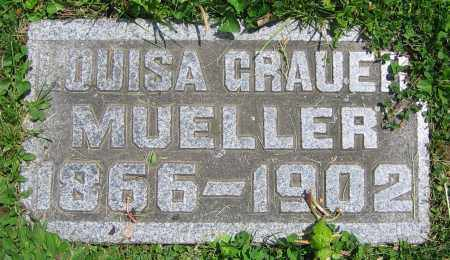 GRAUER MUELLER, LOUISA - Clark County, Ohio | LOUISA GRAUER MUELLER - Ohio Gravestone Photos