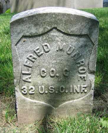 MUNROE, ALFRED - Clark County, Ohio | ALFRED MUNROE - Ohio Gravestone Photos