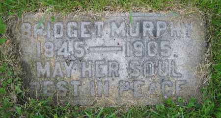 MURPHY, BRIDGET - Clark County, Ohio | BRIDGET MURPHY - Ohio Gravestone Photos