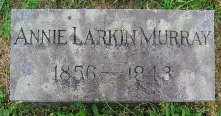MURRAY, ANNIE - Clark County, Ohio | ANNIE MURRAY - Ohio Gravestone Photos
