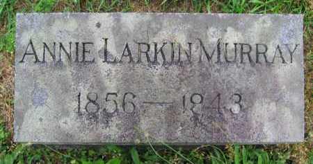 LARKIN MURRAY, ANNIE - Clark County, Ohio | ANNIE LARKIN MURRAY - Ohio Gravestone Photos