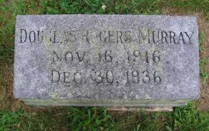 MURRAY, DOUGLAS ROGERS - Clark County, Ohio | DOUGLAS ROGERS MURRAY - Ohio Gravestone Photos