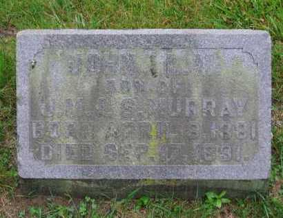 MURRAY, JOHN L - Clark County, Ohio | JOHN L MURRAY - Ohio Gravestone Photos