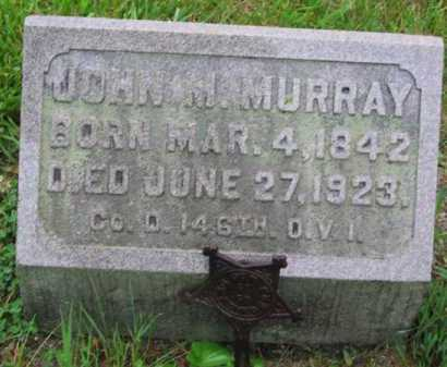 MURRAY, JOHN M - Clark County, Ohio | JOHN M MURRAY - Ohio Gravestone Photos