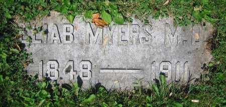 MYERS, ELIAB  M.D. - Clark County, Ohio | ELIAB  M.D. MYERS - Ohio Gravestone Photos