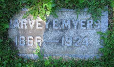 MYERS, HARVEY E. - Clark County, Ohio | HARVEY E. MYERS - Ohio Gravestone Photos