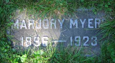 MYERS, MARJORY - Clark County, Ohio | MARJORY MYERS - Ohio Gravestone Photos