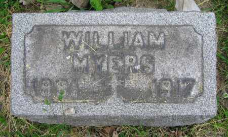 MYERS, WILLIAM - Clark County, Ohio | WILLIAM MYERS - Ohio Gravestone Photos