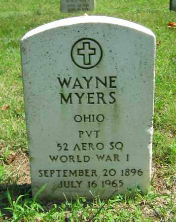 MYERS, WAYNE - Clark County, Ohio | WAYNE MYERS - Ohio Gravestone Photos