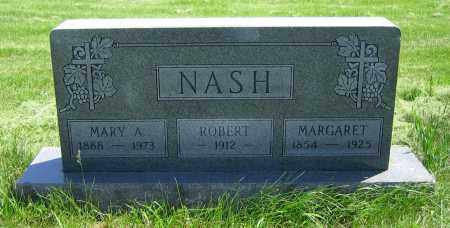 NASH, MARGARET - Clark County, Ohio | MARGARET NASH - Ohio Gravestone Photos
