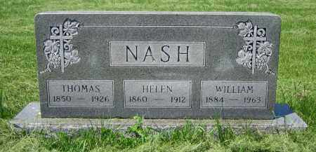 NASH, WILLIAM - Clark County, Ohio | WILLIAM NASH - Ohio Gravestone Photos