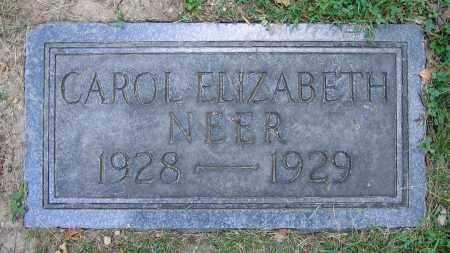 NEER, CAROL ELIZABETH - Clark County, Ohio | CAROL ELIZABETH NEER - Ohio Gravestone Photos