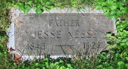 NEESE, JESSE - Clark County, Ohio | JESSE NEESE - Ohio Gravestone Photos