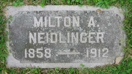 NEIDLINGER, MILTON A. - Clark County, Ohio | MILTON A. NEIDLINGER - Ohio Gravestone Photos