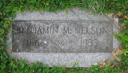 NELSON, BENJAMIN M. - Clark County, Ohio | BENJAMIN M. NELSON - Ohio Gravestone Photos