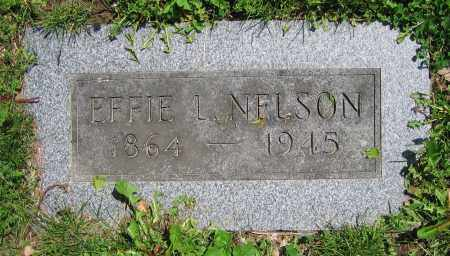NELSON, EFFIE L. - Clark County, Ohio | EFFIE L. NELSON - Ohio Gravestone Photos