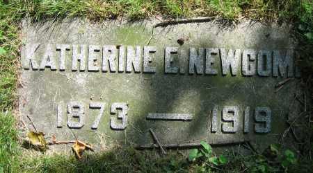 NEWCOMB, KATHERINE E. - Clark County, Ohio | KATHERINE E. NEWCOMB - Ohio Gravestone Photos