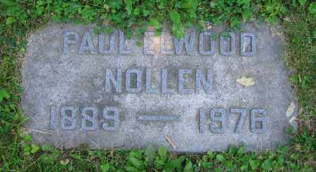 NOLLEN, PAUL ELWOOD - Clark County, Ohio | PAUL ELWOOD NOLLEN - Ohio Gravestone Photos