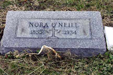 O'NEILL, NORA - Clark County, Ohio | NORA O'NEILL - Ohio Gravestone Photos