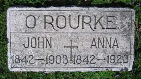 O'ROURKE, JOHN - Clark County, Ohio | JOHN O'ROURKE - Ohio Gravestone Photos