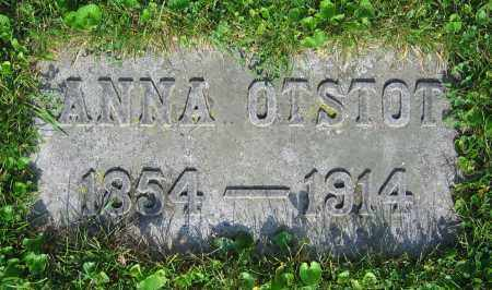 OTSTOT, ANNA - Clark County, Ohio | ANNA OTSTOT - Ohio Gravestone Photos