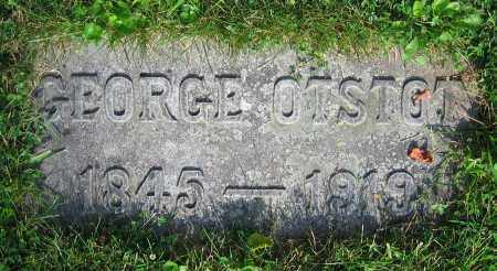 OTSTOT, GEORGE - Clark County, Ohio | GEORGE OTSTOT - Ohio Gravestone Photos