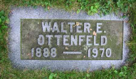 OTTENFELD, WALTER E. - Clark County, Ohio | WALTER E. OTTENFELD - Ohio Gravestone Photos