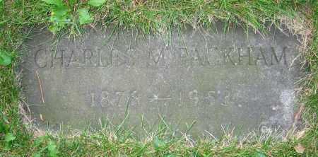 PACKHAM, CHARLES M. - Clark County, Ohio | CHARLES M. PACKHAM - Ohio Gravestone Photos