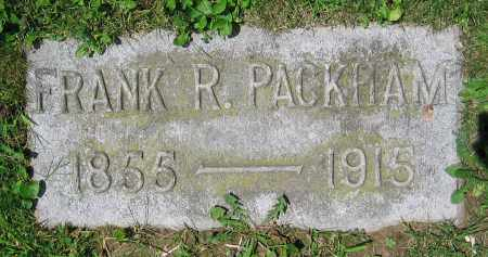 PACKHAM, FRANK R. - Clark County, Ohio | FRANK R. PACKHAM - Ohio Gravestone Photos