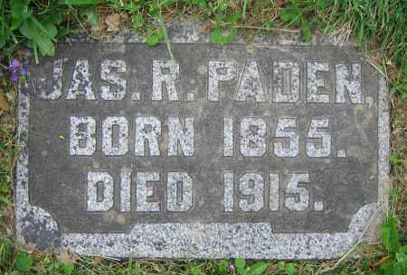 PADEN, JAS. R. - Clark County, Ohio | JAS. R. PADEN - Ohio Gravestone Photos