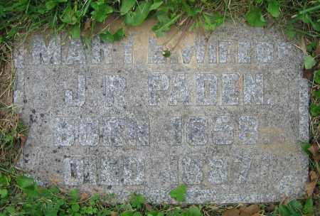 PADEN, MARY E. - Clark County, Ohio   MARY E. PADEN - Ohio Gravestone Photos