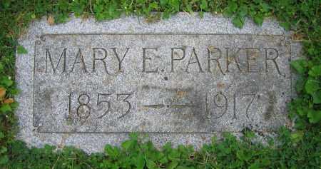 PARKER, MARY E. - Clark County, Ohio | MARY E. PARKER - Ohio Gravestone Photos