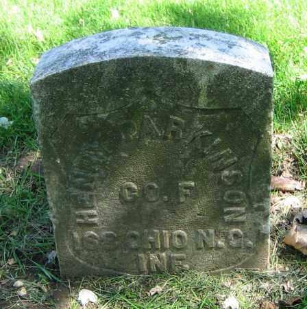 PARKINSON, HENRY - Clark County, Ohio | HENRY PARKINSON - Ohio Gravestone Photos