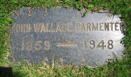 PARMENTER, JOHN WALLACE - Clark County, Ohio | JOHN WALLACE PARMENTER - Ohio Gravestone Photos