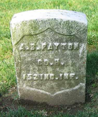PAYTON, A.B. - Clark County, Ohio | A.B. PAYTON - Ohio Gravestone Photos