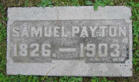 PAYTON, SAMUEL - Clark County, Ohio | SAMUEL PAYTON - Ohio Gravestone Photos