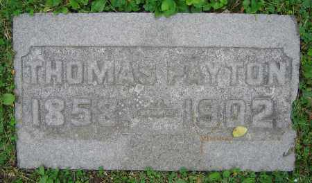 PAYTON, THOMAS - Clark County, Ohio | THOMAS PAYTON - Ohio Gravestone Photos