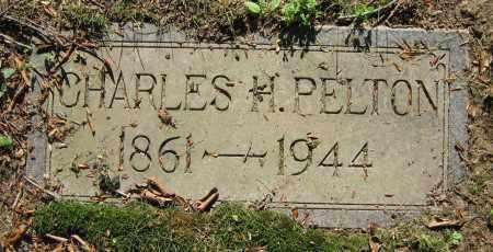 PELTON, CHARLES H. - Clark County, Ohio | CHARLES H. PELTON - Ohio Gravestone Photos