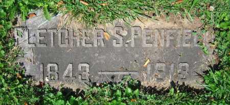 PENFIELD, FLETCHER S. - Clark County, Ohio | FLETCHER S. PENFIELD - Ohio Gravestone Photos