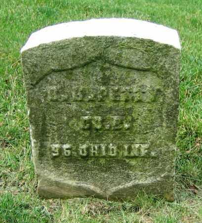 PETTY, B.B. - Clark County, Ohio   B.B. PETTY - Ohio Gravestone Photos