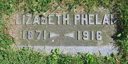 PHELAN, ELIZABETH - Clark County, Ohio | ELIZABETH PHELAN - Ohio Gravestone Photos