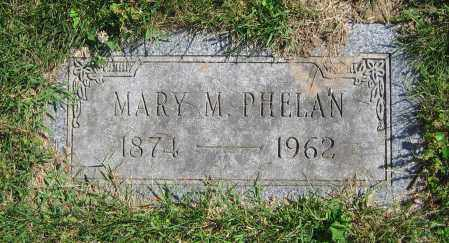 PHELAN, MARY M. - Clark County, Ohio | MARY M. PHELAN - Ohio Gravestone Photos