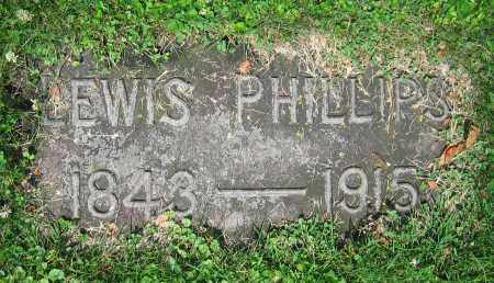 PHILLIPS, LEWIS - Clark County, Ohio | LEWIS PHILLIPS - Ohio Gravestone Photos