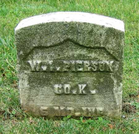 PIERSON, W.I. - Clark County, Ohio | W.I. PIERSON - Ohio Gravestone Photos